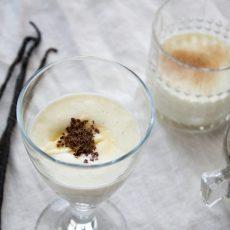 Krupicová kaše pro dospělé s vanilkou